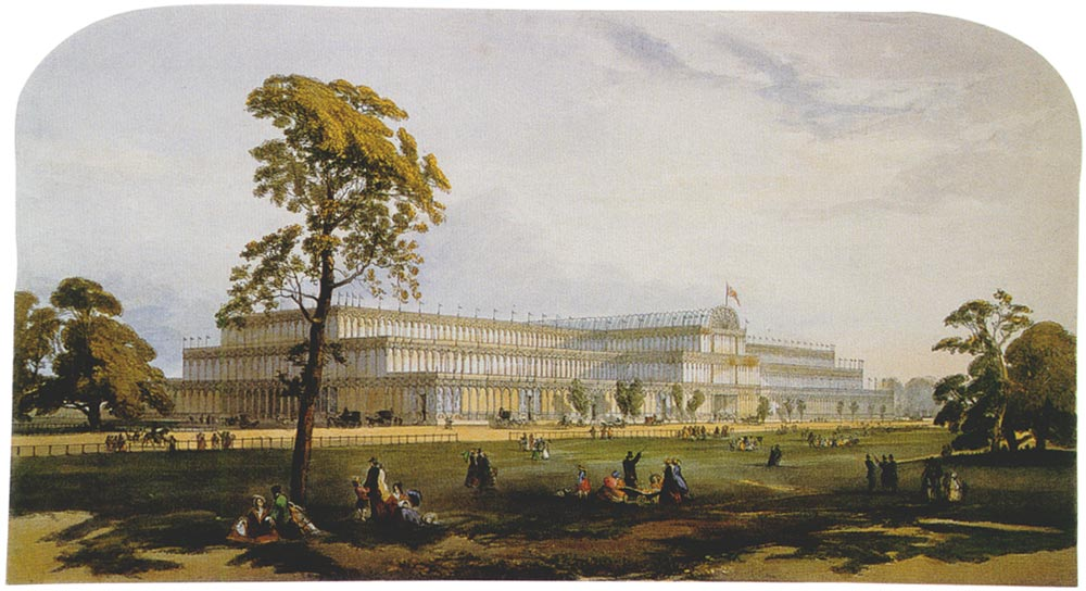 The Crystal Palace in 1854